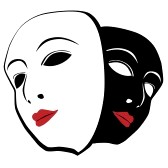 14777172-white-and-black-mask[1] By 123rf.com
