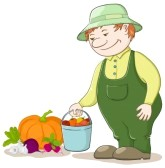 10011845-vector-men-gardener-with-a-crop-of-ripe-vegetables[1] By 123rf.com